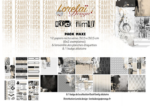 PACK MAXI ROCK FAMILY