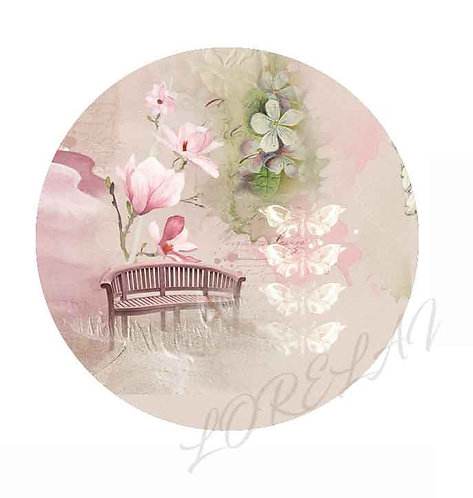 BADGES PAUSE TENDRESSE BLOOM (LOT DE 5)