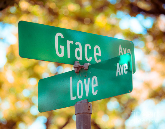 Showing Love and Grace                       to the Undeserved