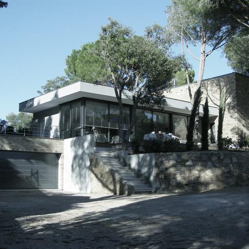 Construction d'une villa à Sainte-Maxime