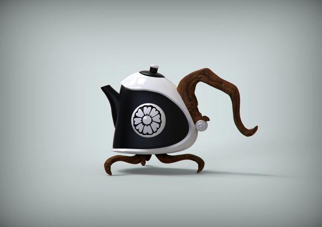 DVS1- Order Of The White Lotus Teapot