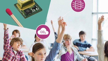 CO2 Sensor Helps to Reduce the Risk of Covid-19 Transmission Indoors