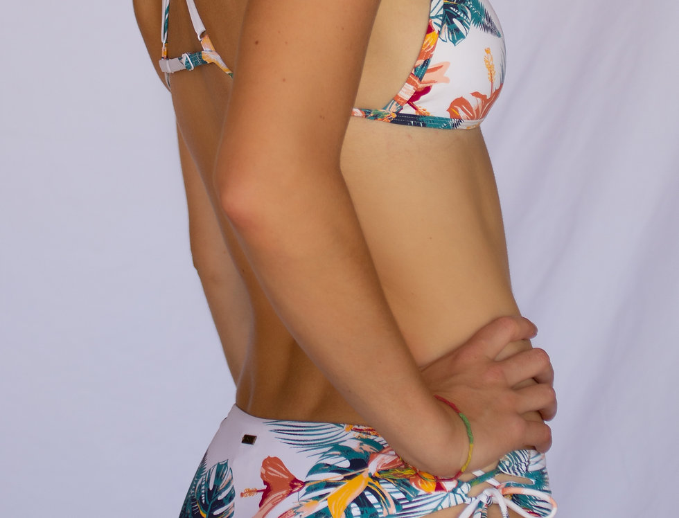 "Roxy ""Lahina Bay Tiki Tri"" Bikini Set"