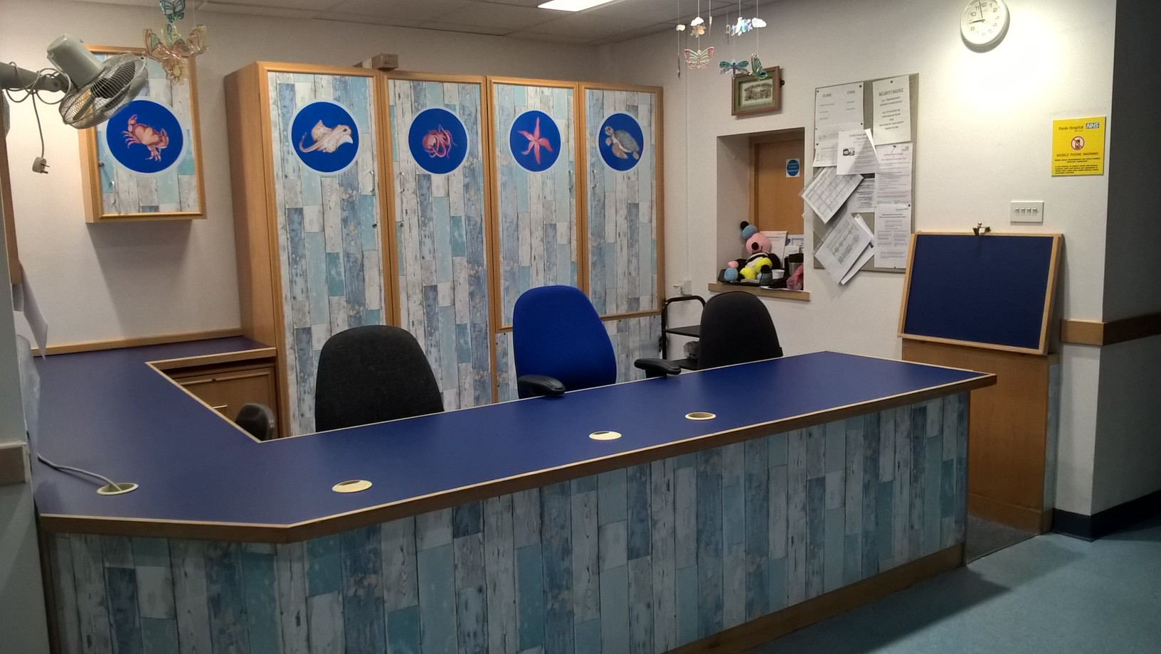 Reception Desk - Refurbishment