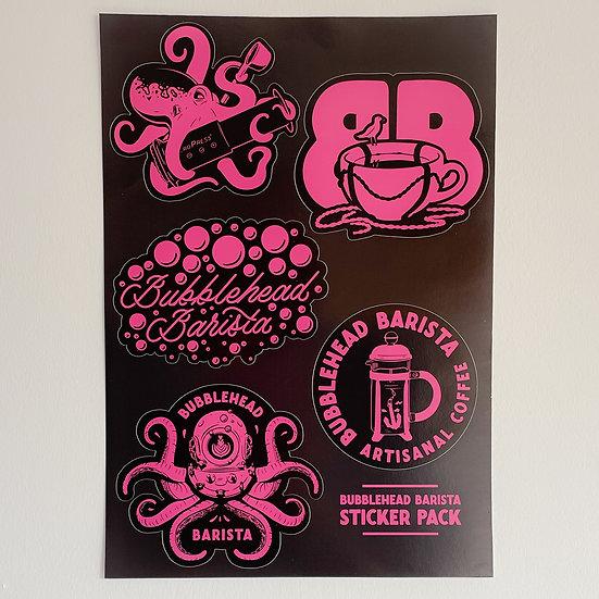 Bubblehead Sticker Pack