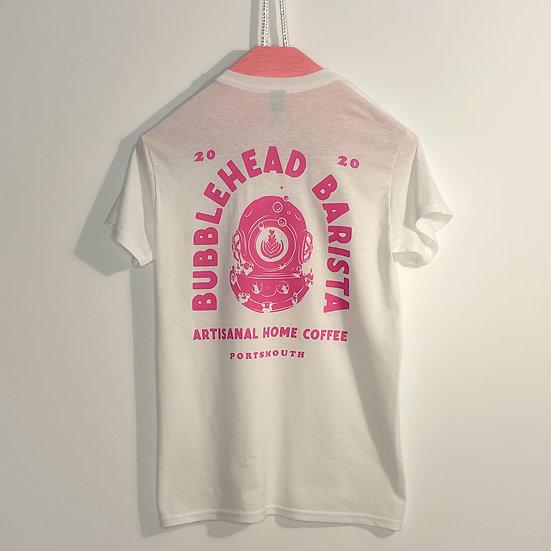 Bubblehead Crew T-shirt - White