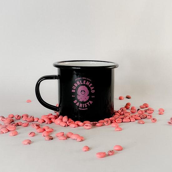 Bubblehead Tin Mug - Black