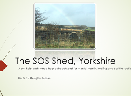 The SOS Shed - A vision for a suicide prevention centre