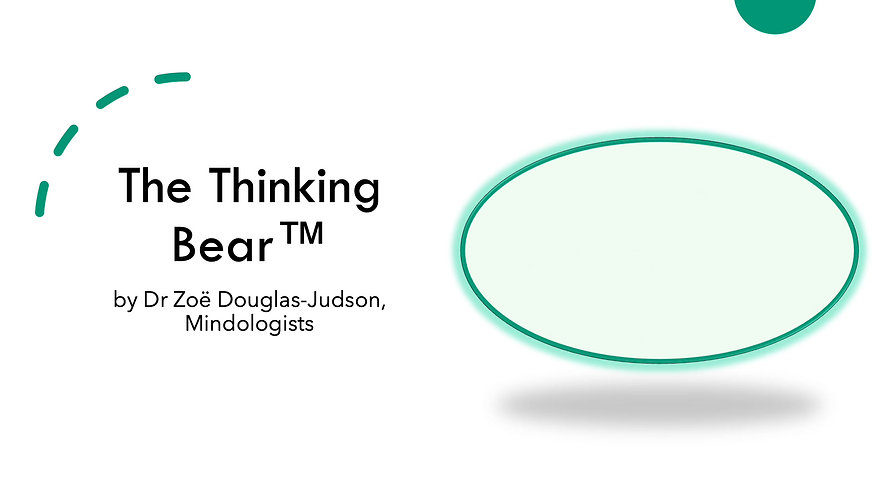 The Thinking Bear - Guideded Self-help Programme for Stronger Mindsets & Mental Health