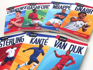 'TALES FROM THE PITCH' BOOK COVERS