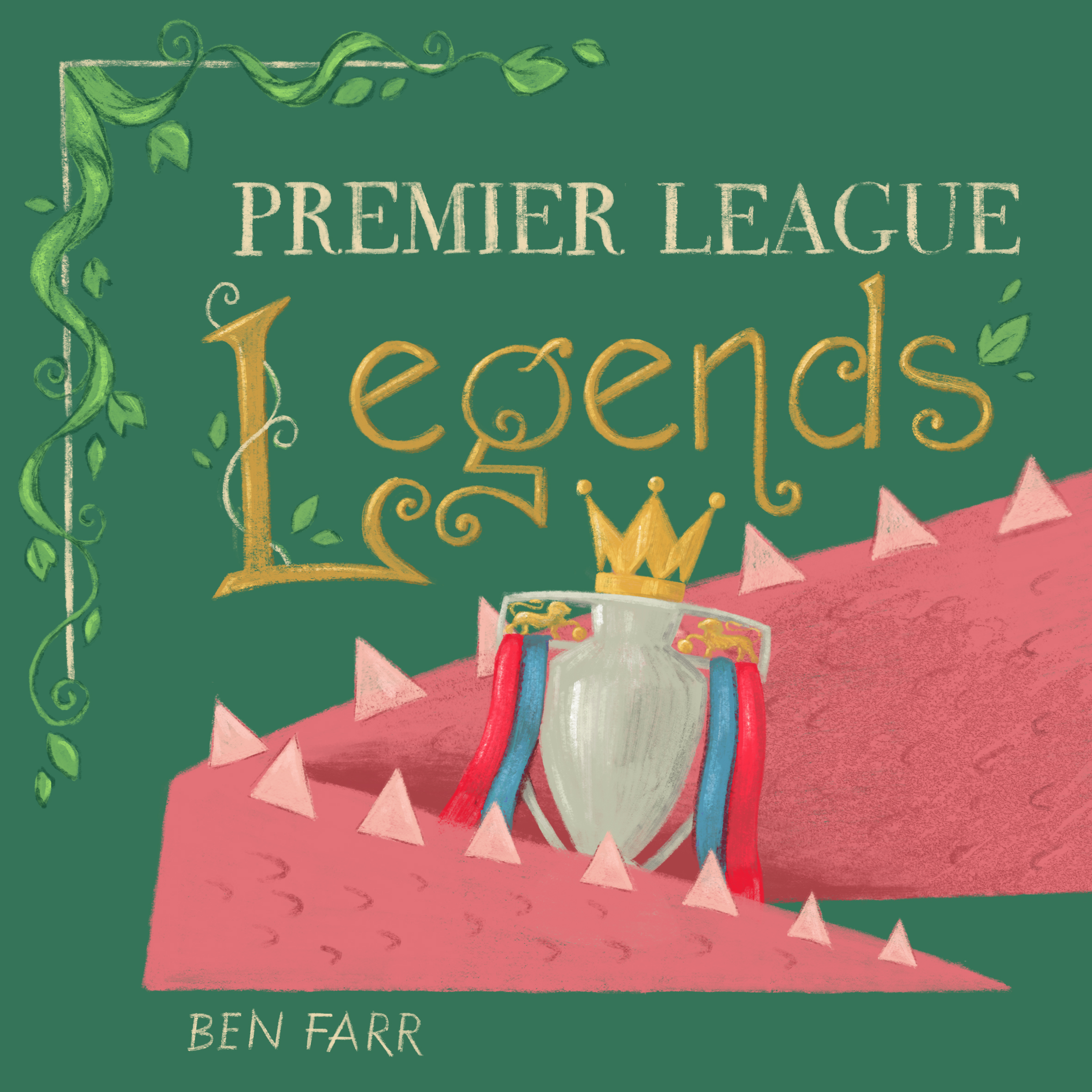 Ben Farr_PL Legends Book Cover