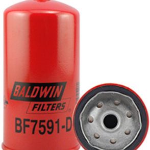Baldwin BF7591-D Filter Fuel Spin-on with Drain