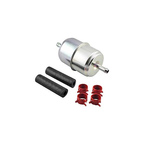 Baldwin BF833-K2 In-Line Fuel Filter with Clamps and Hoses