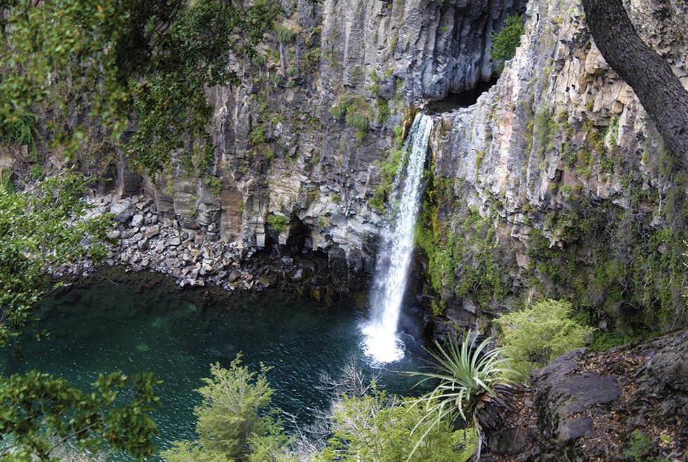 Salto la Leona - Las Siete Tazas – Región del Maule – Chile 2013