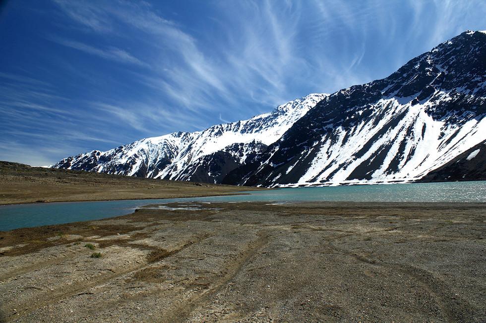Embalse del Yeso – Cordillera de los Andes – San José de Maipo – Región Metropolitana de Santiago de Chile. 2012