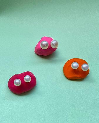 Wilma earrings- L size