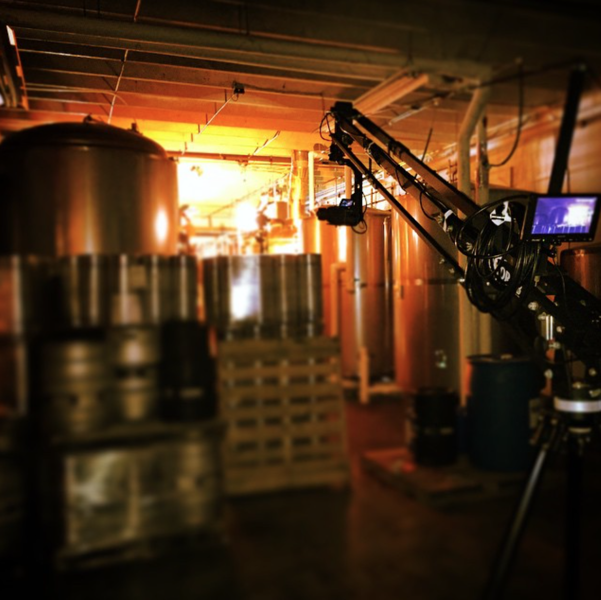FS700 on EZFX Jib at Wynwood Brewery