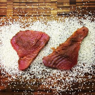 Speedy Sesame-coated Miso Tuna