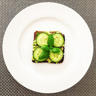 Avocado and rye - a match made in heaven