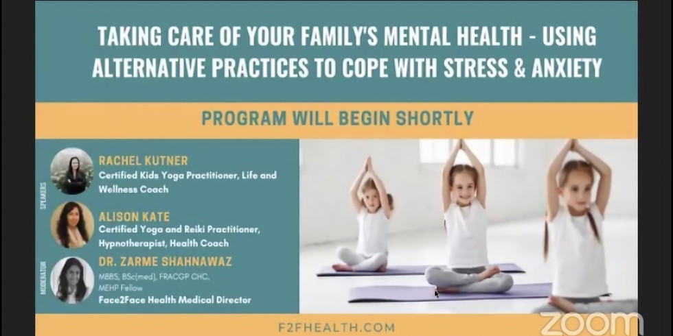 Taking Care of Your Family's Mental Health