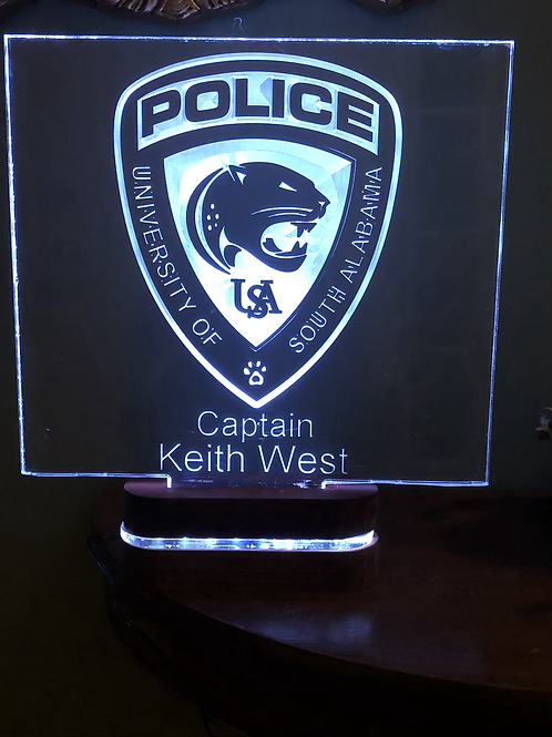 12x12 Edge Lighted Sign
