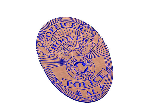 Hoover Police Badge Digital Files