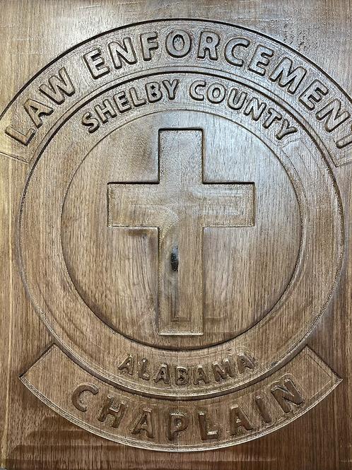 SCSO Chaplains Plaque