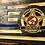 Thumbnail: Medium Thin Blue Line Flag w/Epoxied Blue Line & Custom Image