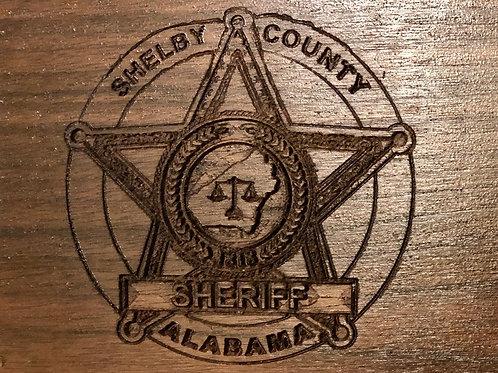 Shelby County Badge Wall Art