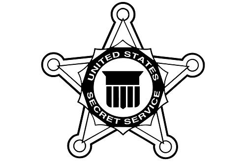 U.S. Secret Service Star Plaque