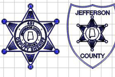 Jeff. Co. Badge & Patch 4 $40 - $45