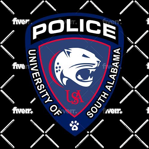 University of South Alabama Police Patch Digital Files