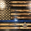 Thumbnail: Custom Large Wooden Rustic Flag (19.5 in x 38 in)