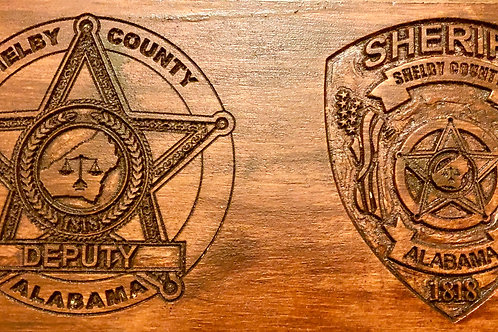 Shelby County Sheriff's Office Wall Plaque $40 - $45