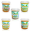 Thumbnail: Mixed Case of 15 pots, 3 of each flavour