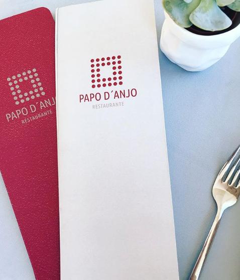 ementa em detalhe de mesa_Restaurante Pa