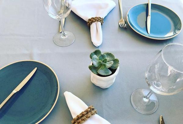 detalhe de mesa_Restaurante Papo d Anjo.