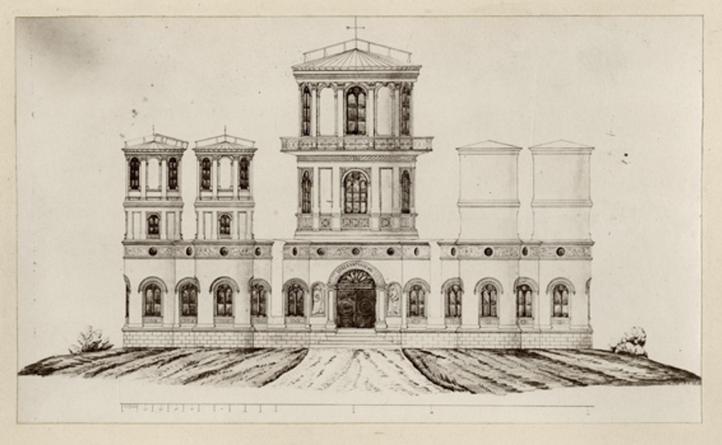 """""""El Observatorio en Quito"""" según LuisDressel."""