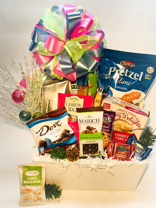 Snowy Pines Holiday Gift Basket