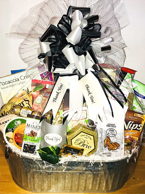 Holiday Thank You Gourmet Gift Basket