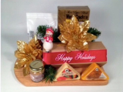 Gourmet Cutting Board Gift Basket