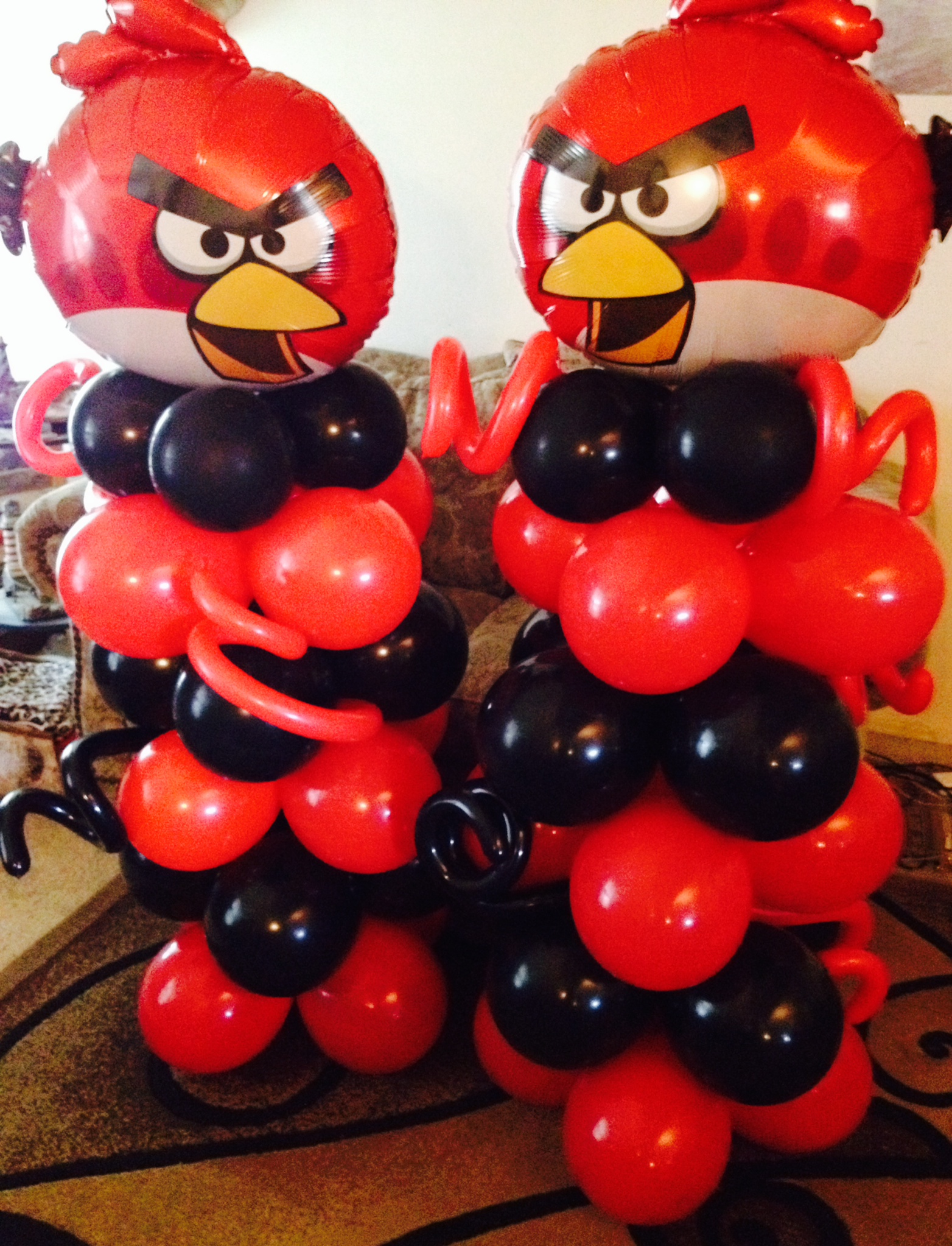 Angry Birds Columns