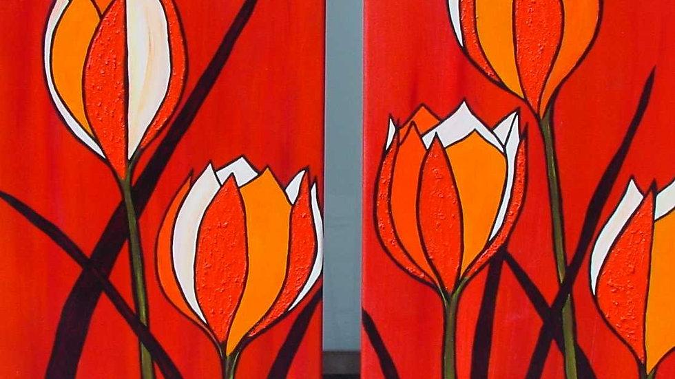 2-luik Botanische tulpjes