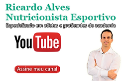 foto do canal do do youtube do Ricardo Alves nutricionista