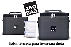 Logotipo do site de bolsas térmicas 2gobag