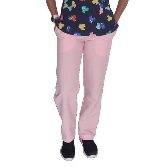 Pantalón Antifluido Rosa Pastel