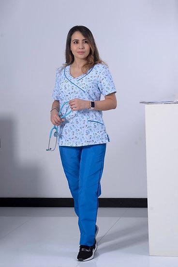 Uniforme Antifluido Enfermera