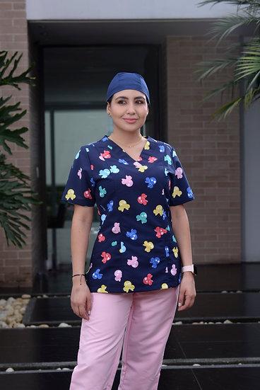 Blusa Antifluido Minnie Colors