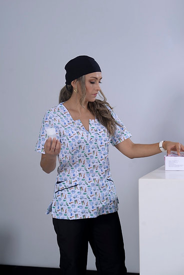 Blusa Antifluido Odontología
