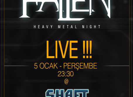 FALLEN 5 Ocak'ta Shaft'ta !